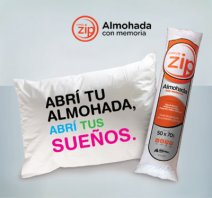 Almohada inteligente ZIP Elegi disfrutar de un mejor descanso