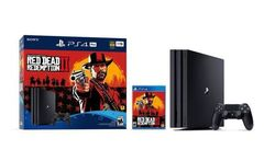 Ps4 consola pro 1tb red dead redemption 2 - Avenida