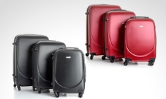$79.990 por set de 3 maletas Travel Collection modelo Schwaner en color a elección. Incluye despacho - Groupon