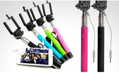 Baston selfie con correa de mano en color a eleccion - Groupon