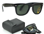 ENVIO GRATIS: Lentes Ray Ban Wayfarer Folding black. - Descontate