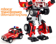 2014 new arrival action figure remastered version plastic robocar poli toy for children birthday gift robot model free shipping - AliExpress