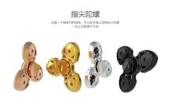 New Adult Kid Fidget Finger Toy EDC Focus ADHD Autism Shield Knife Hand Spinner - AliExpress