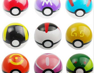 Free Shipping 1 Pcs Lot ABS Action Anime Figures Pokemon balls PokeBall Fairy Ball Super Ball Master Ball Kids Toys Gift W93 - AliExpress