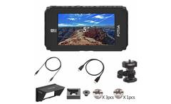 Fotga DP500IIIS A50 5 FHD Video On Camera Field Monitor Touch Screen 1920x1080 510cd m2 HDMI 4K Input Output for F970 A7 GH5 - AliExpress