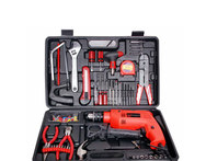 True Star Powerful 13 mm Impact Drill Machine Kit with Reversible Function 101 Accessories - Snapdeal