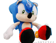 Cute cartoon figures stuffed toys The Adventures of Sonic the Hedgehog 27cm plush dolls Small Pendant gift for children kids - AliExpress
