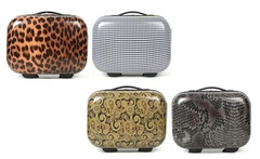 Beauty case da viaggio rigidi Infinitif disponibili in varie fantasie - Groupon