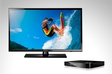 "$6,999 en vez de $9,999 por led 39"" full HD + Blu-ray Smart Samsung con envío - Groupon"