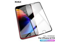 KUGE High quality 9H 6D Tempered Glass For iPhone 8 7 6 Plus Screen Protector Glass For iPhone 7 6s 8 Plus Protection Glass film - AliExpress