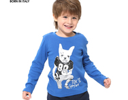 2015 TOKTIC Autumn Cotton Cool Boy O neck T shirt Clothing Kids Children Cartoon Dog Tees And Top With Long Sleeve Fit 3 12 t - AliExpress