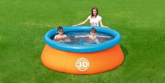 Piscina inflable Bestway 3D - woOw