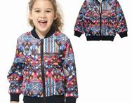 children spring autumn long sleeve air layer jacket girl clothing kids girl scuba fabric outwear coat fits 3 12year TOKTIC - AliExpress