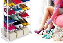70% Increible Rack para Zapatos, 18 Pares - Cuponatic