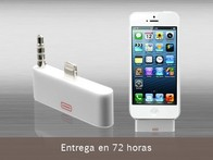 Kit para iPhone 5: Adaptador Lightning/30 Pins y Cable Audio - LetsBonus