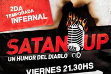 2 Entradas para Satan Up Comedy en Terraza Teatro Bar, Paseo La Plaza. - Club Cupon