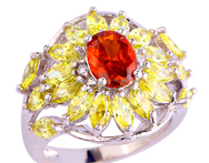 2015 Adorable Pure Jewelry Red Ruby Spinel 925 Silver Fashion Ring Size 7 For Free Shipping Wholesale - AliExpress