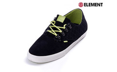 Tenis Element Vernon Black Neon Green - Cardume
