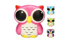 New Owl Shape Squeeze Toy Adorable Owl Squishy Slow Rising Cartoon Doll Cream Scented Stress Relief Toy Children Adults PY - AliExpress