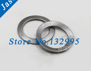 M6 Lock washer Locking washer DIN9250 Double ridges teeth gasket spacer washer anti skid gasket washer - AliExpress