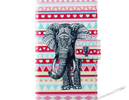 For Samsung galaxy note 4 case N9100 phone Bags Filp Cover PU Stand Wallet Elephant Eiffel Tower sexy girl colour printing - AliExpress