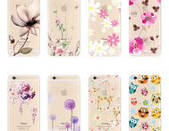 flower Case for Iphone 6 Retro scratch slim Mobile Soft Cover Tpu Phone Cases for Iphone 6 - AliExpress