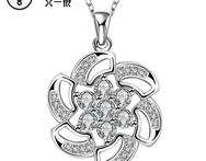 Silver plated hot sale N694 hot brand new fashion popular chain necklace jewelry - AliExpress
