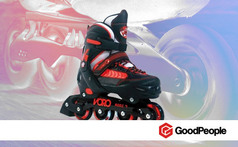 Rollers semi profesionales:Rollers Voro® Red - Clickon