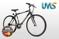 Bicicleta Mountain Bike Halley rodado 26 con suspension en LMS