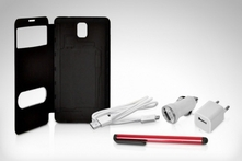 $9.990 en vez de $19.370 por kit flip cover view para Samsung Galaxy Note 2 o 3 en color a elección. Incluye despacho - Groupon