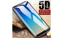 5D Full Glue Tempered Glass For Xiaomi Pocophone F1 A2 8 Mix2s Max3 Screen Protector Full Cover For Redmi Note 6 5 Pro S2 - AliExpress