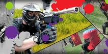 50 OFF Partida de paintball 100 pellets en el Coliseo Paintball a solo 45