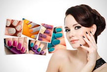 Kit Uñas Decorativas + Pinceles 62% - Cuponatic