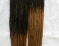 Black Brown Two Tone Color Remy Ombre Color Skin Weft Balayage ColorTape Hair Extension - AliExpress