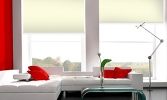 Desde 8 990 por cortinas roller screen color beige en tamano a eleccion Incluye despacho - Groupon