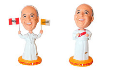 1 o 2 munecos bubble head Papa Francisco Union y Esperanza - Cuponidad