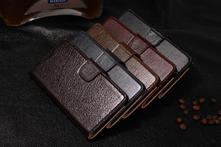 Real Genuine Leather Genuine Leather case for Samsung Galaxy Note 4 Wallet Style Flip Stand Phone Back Cover with Card Slot - AliExpress