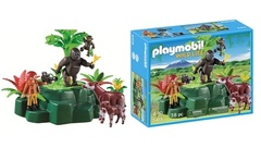 Playmobil set de gorilas okapis y cineasta - Groupon
