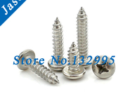 ST1 4 9 Stainless Steel A2 self tapping screw Pan head tapping screw SUS 304 ST1 4 L - AliExpress