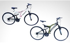Bicicleta GW Sinope doble suspension rin 26 en color a eleccion Incluye envio - Groupon