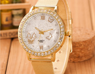 Women S Watches Brand Luxury Fashion Ladies Watch Women Wristwatches Relojes Mujer Gold Quartz Clock Relogio Feminino 2015 AB517 - AliExpress