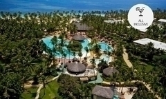 Punta Cana desde 325 por 3 4 5 o 7 noches all inclusive para dos golf en Hotel Catalonia Bavaro Beach Golf Casino Resort - Groupon