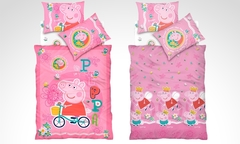 $22.990 por plumón reversible modelo Peppa Pig marca Cannon. Incluye despacho - Groupon