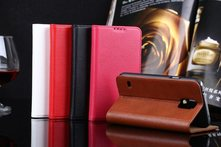 2014 New items Luxury Genuine Leather Genuine Leather Case For Samsung Galaxy S5 With Card Holders Wallet Stand Retro Cover - AliExpress