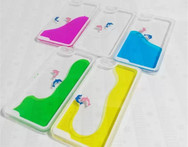 For iPhone 6plus 5 5 inch Hard case Back Cover Liquid quicksand Transparent Dynamic Glitter dolphin Liquid sand Protective - AliExpress