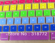100pcs lot via DHL EMS Ultrathin Rainbow Silicone Keyboard Guard Cover Skin Protector for MacBook Pro 13 15 17 USA Standard - AliExpress