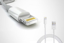 Cable Datos y Carga USB para iPhone 5, iPod Touch 5 - Cuponatic