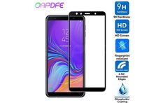 3D Full cover Tempered glass for SAMSUNG galaxy J2 J3 J4 J6 J7 J8 2018 safety Screen protector For samsung A5 A6 A7 A8 Plus 2018 - AliExpress