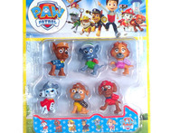 2015 new 6 pcs set paw patrol toys pvc patrulla canina toys original russian action figure anime kids toys robot dog juguetes - AliExpress