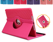 360 Rotating Flexible Ultra Thin Flip Leather Cases For Apple iPad 2 3 4 Fashion Smart Stand Auto Sleep Cover For iPad 4 ipad 3 - AliExpress